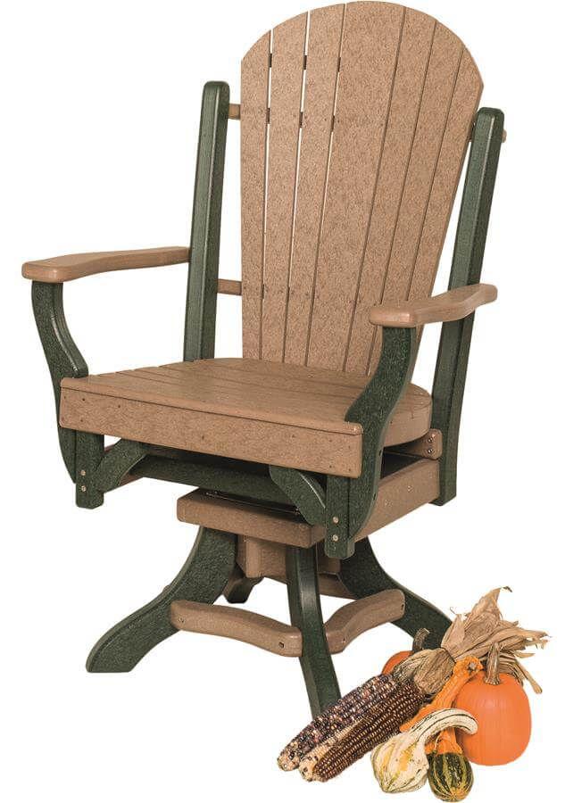 Figi Outdoor Swivel Dining Chair