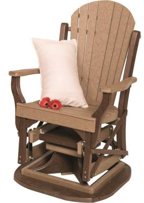 Figi Poly Lumber Patio Swivel Glider