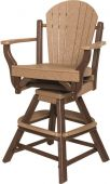 Maui Outdoor Swivel Bar Chair