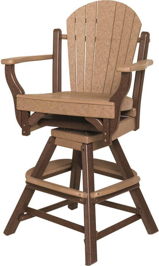 Maui Swivel Bar Chair