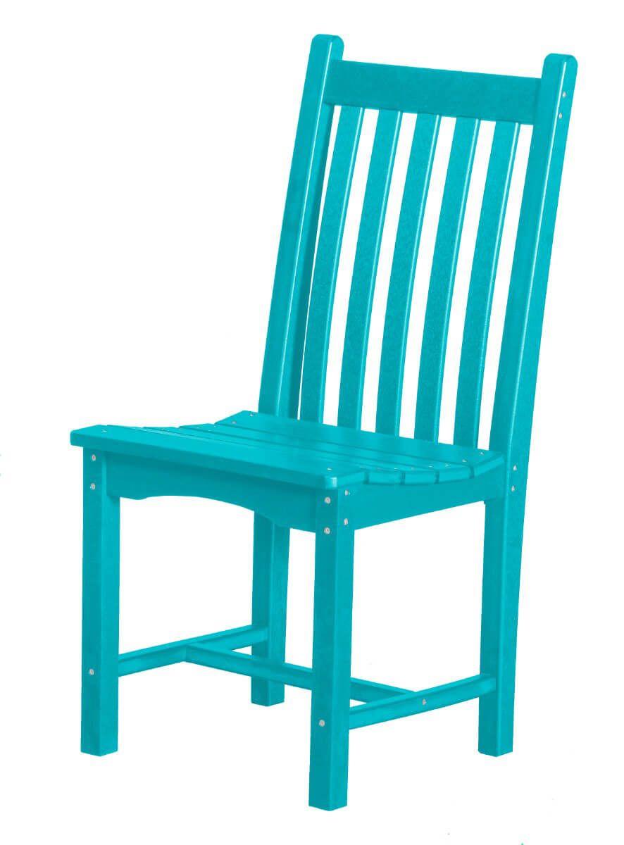 Aruba Blue Side Chair