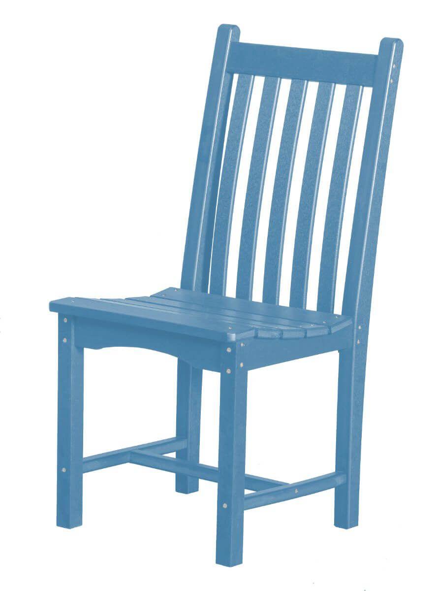 Powder Blue Side Chair