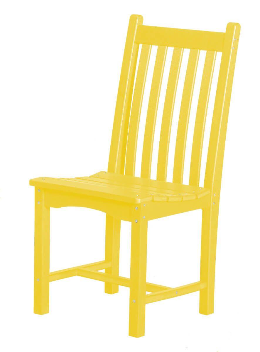 Lemon Yellow Side Chair