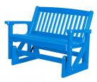 Blue Aniva Outdoor Double Glider