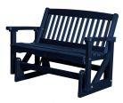 Patriot Blue Aniva Outdoor Double Glider