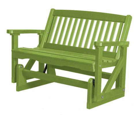 Lime Green Aniva Outdoor Double Glider