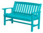Aruba Blue Aniva Patio Bench