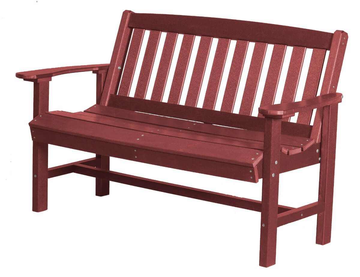 Cherry Wood Aniva Patio Bench