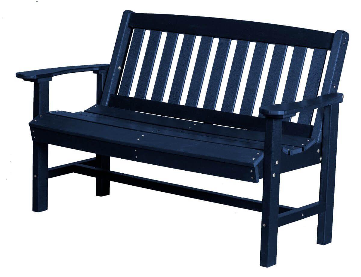 Patriot Blue Aniva Patio Bench