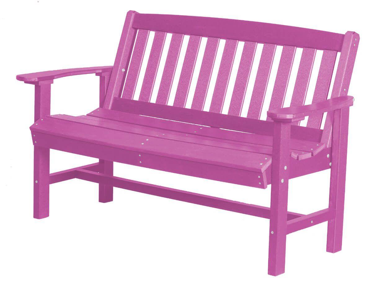 Purple Aniva Patio Bench