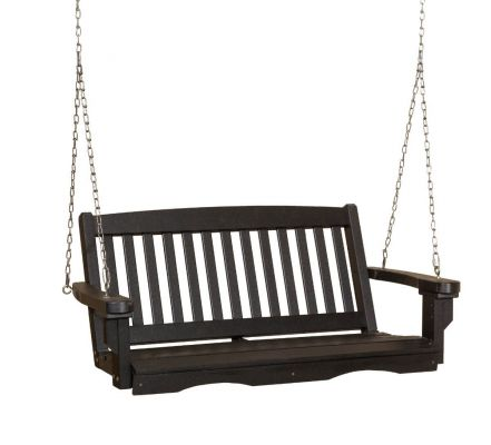 Black Aniva Porch Swing