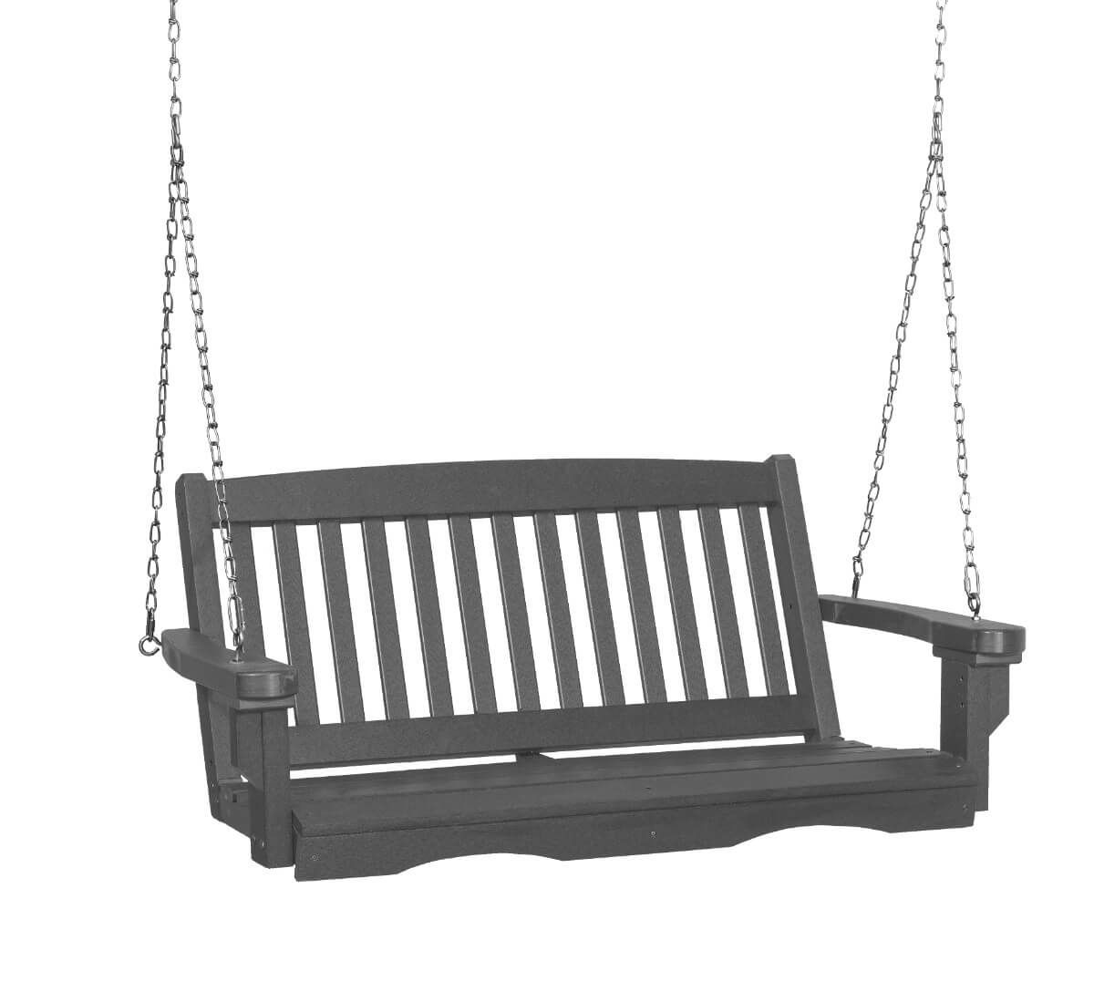 Dark Gray Aniva Porch Swing