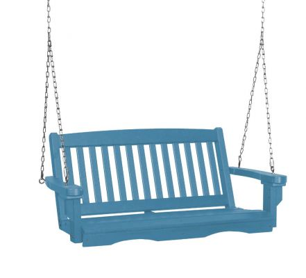 Powder Blue Aniva Porch Swing