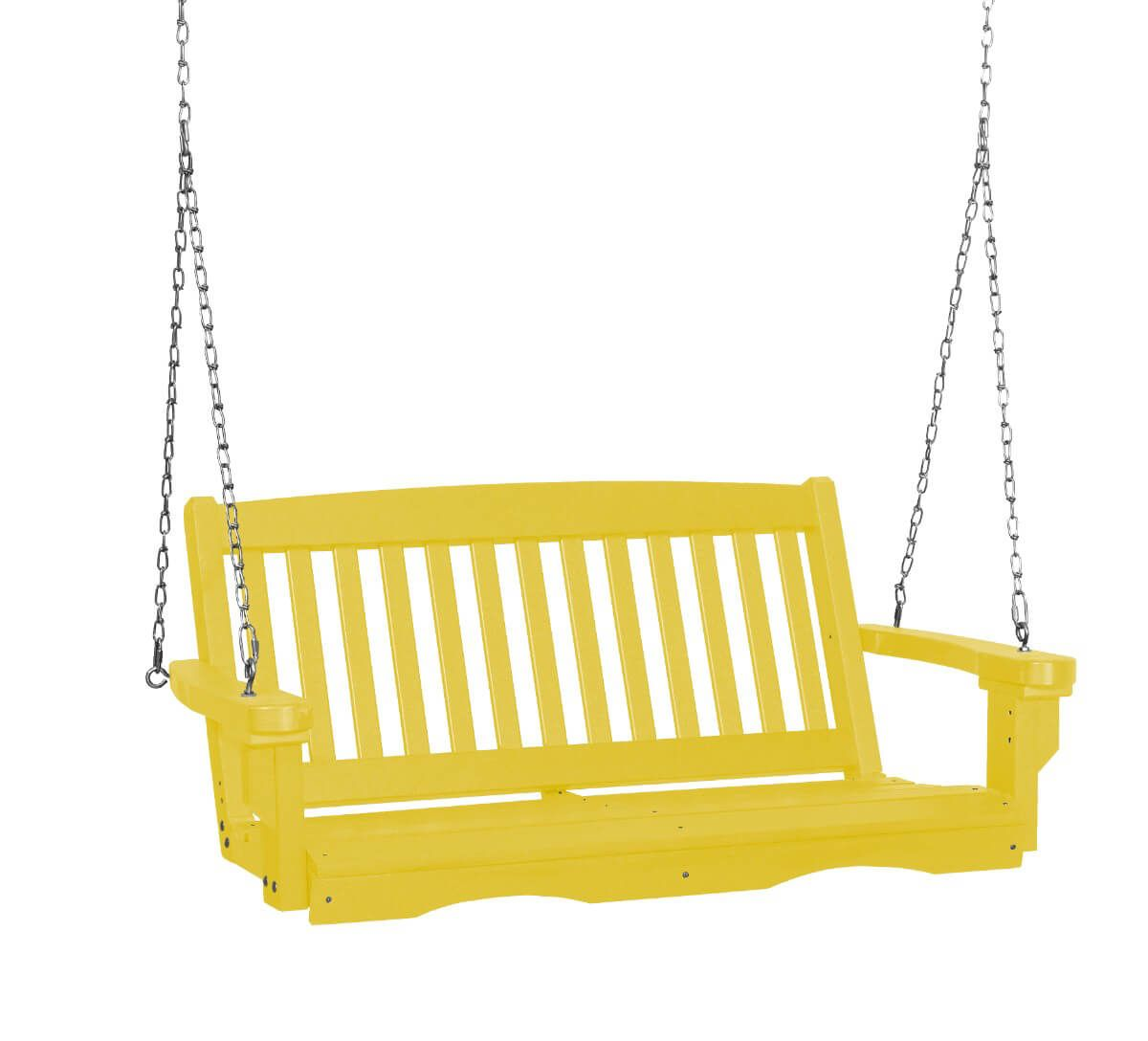 Lemon Yellow Aniva Porch Swing