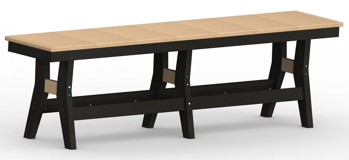 Poly Lumber Patio Bench