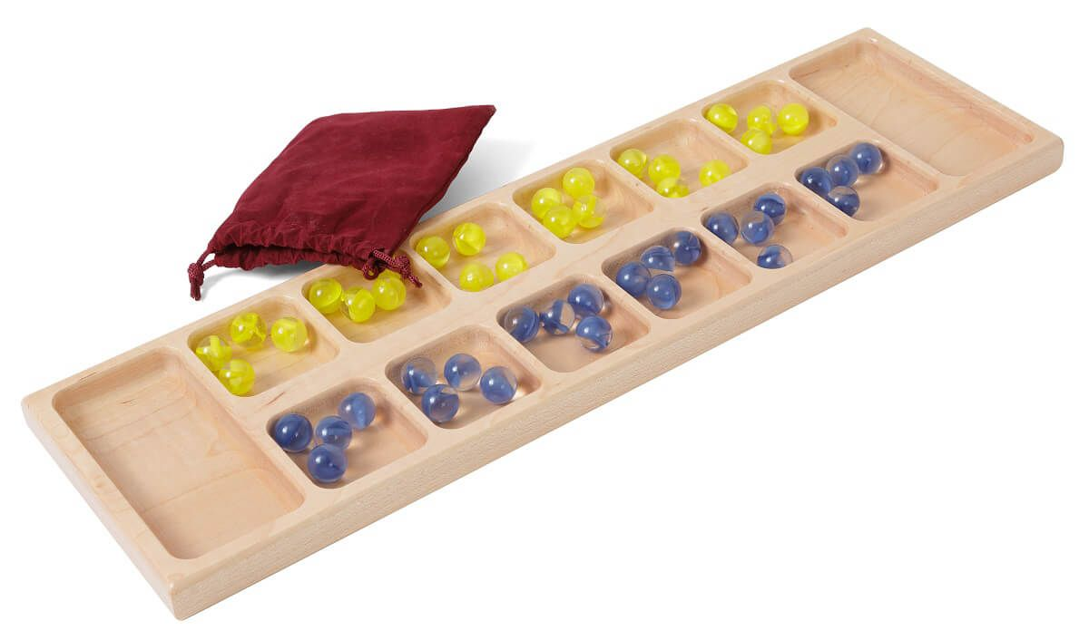 Handcrafted Mancala Game Board