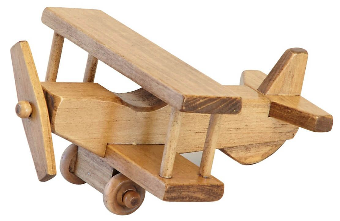 Amish Handmade Airplane Toy