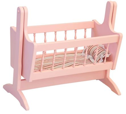 Amish Rocking Doll Cradle - Countryside Amish Furniture