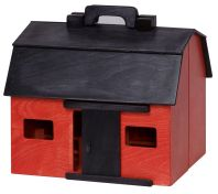 Wooden Folding Barn with Animal Toys