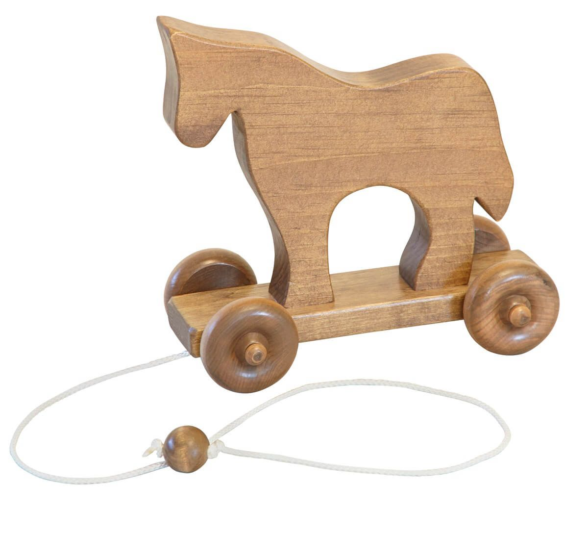 Wooden Horse Pull Toy
