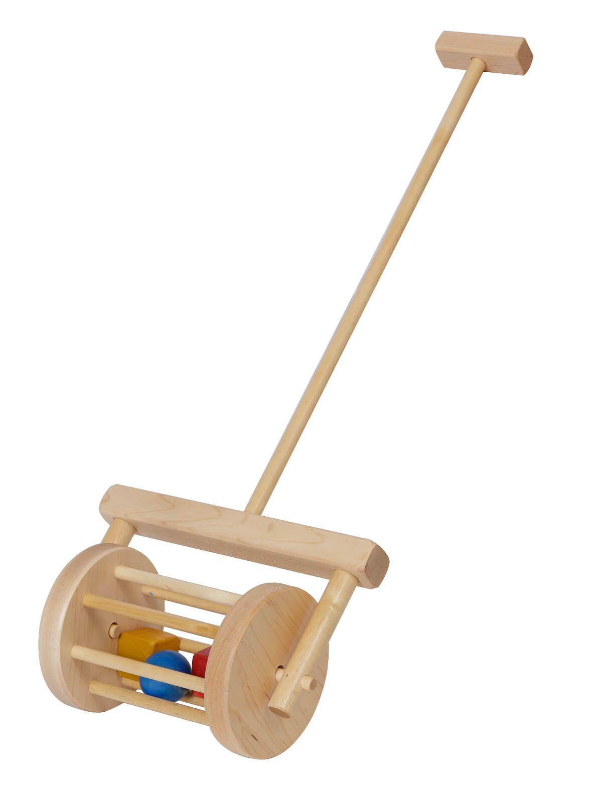 Wooden Maple Roller Push Toy