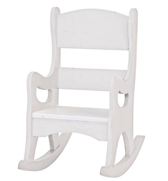 Painted Amish Made Toddler Rocking Chair