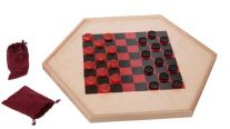 Double Sided Checker Board