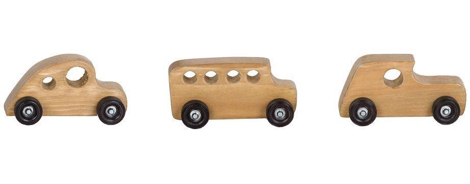 Amish Wooden Toy Cars
