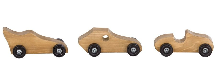 Amish Wood Toy Car
