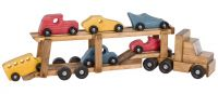 Handmade Toy Car Carrier Truck
