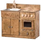 Kid's Sink and Stove Kitchen Playset