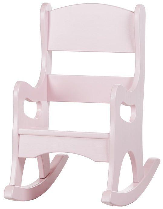 Gray Rocking Chair