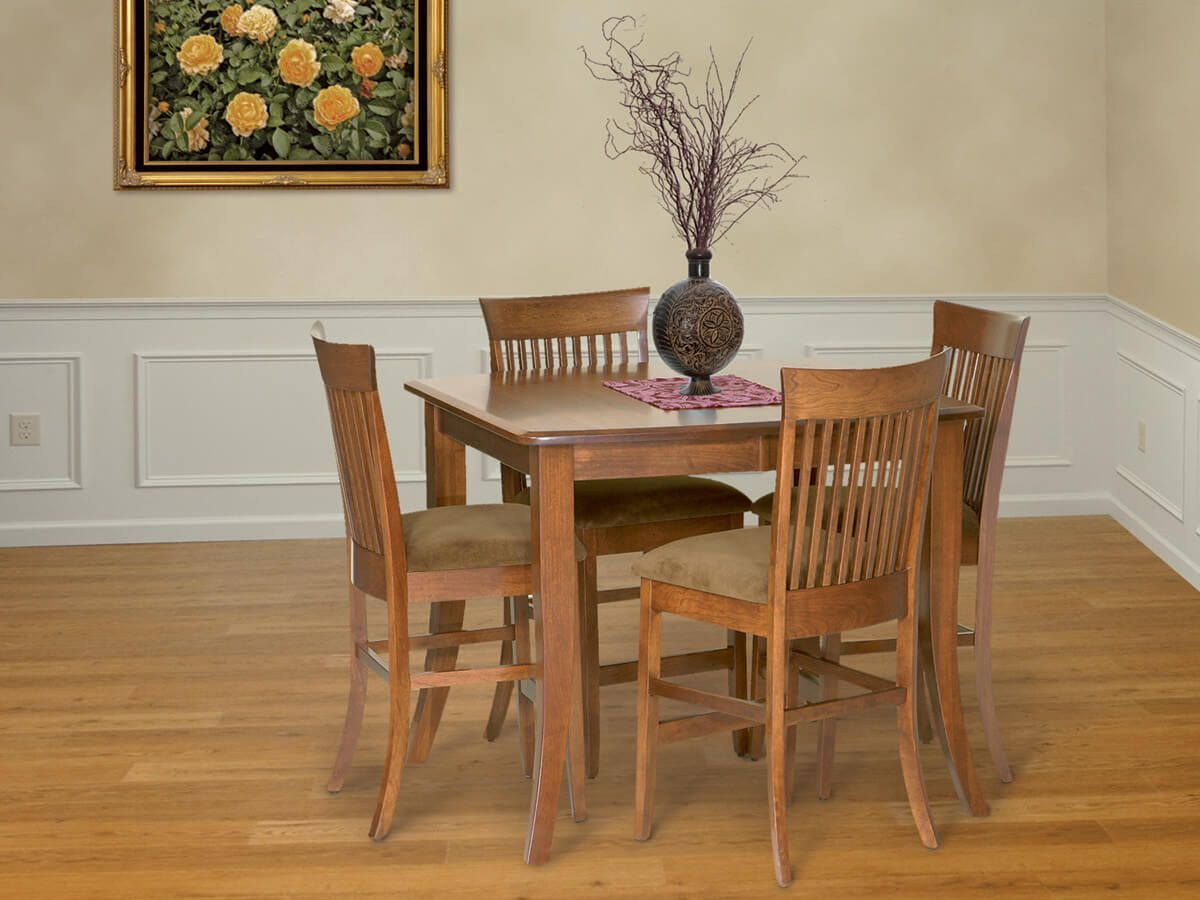 Shown with Gallatin Bar Table