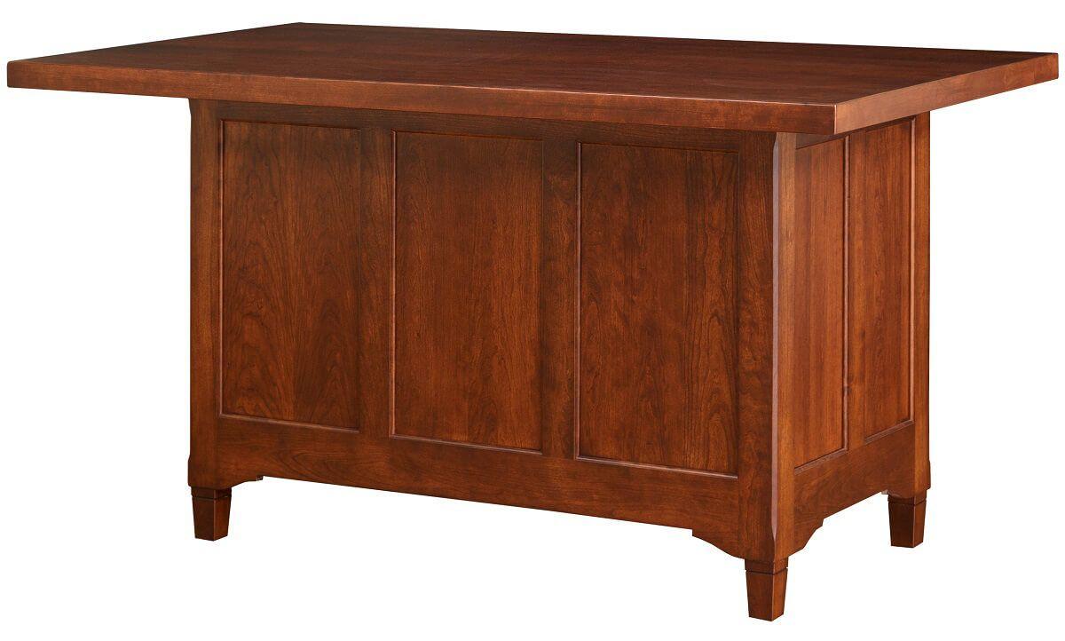 Paneled Wooden Back