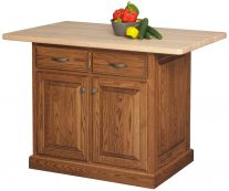 leesburg traditional island wood kitchen islands and tables   countryside amish furniture  rh   countrysideamishfurniture com