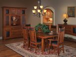 Nevada Mission Dining Set