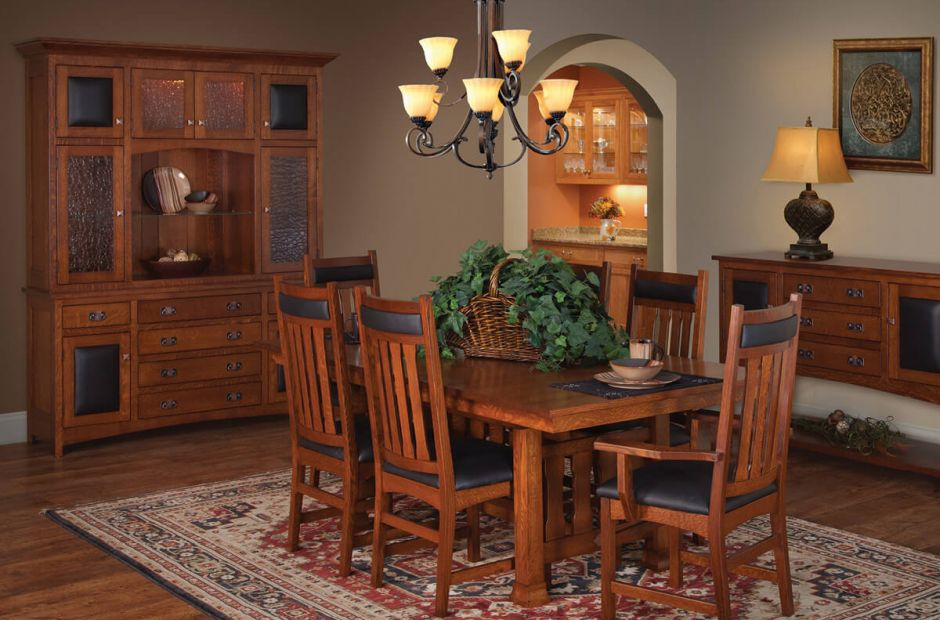 Nevada Mission Dining Room Set Countryside Amish Furniture