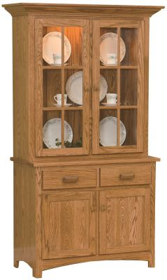 Quebec 2-Door Hutch