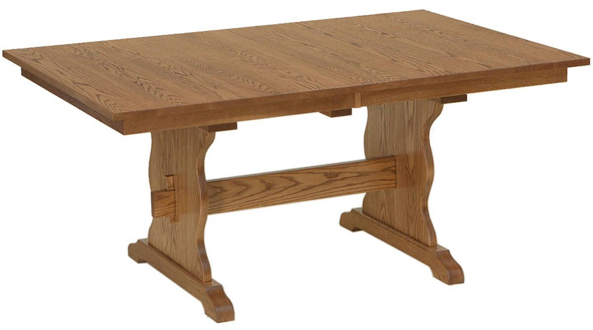 Quebec Trestle Table