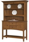 Wheeling Hutch Sideboard