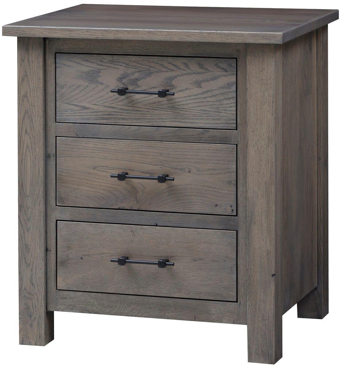 Bald Knob 3-Drawer Side Table