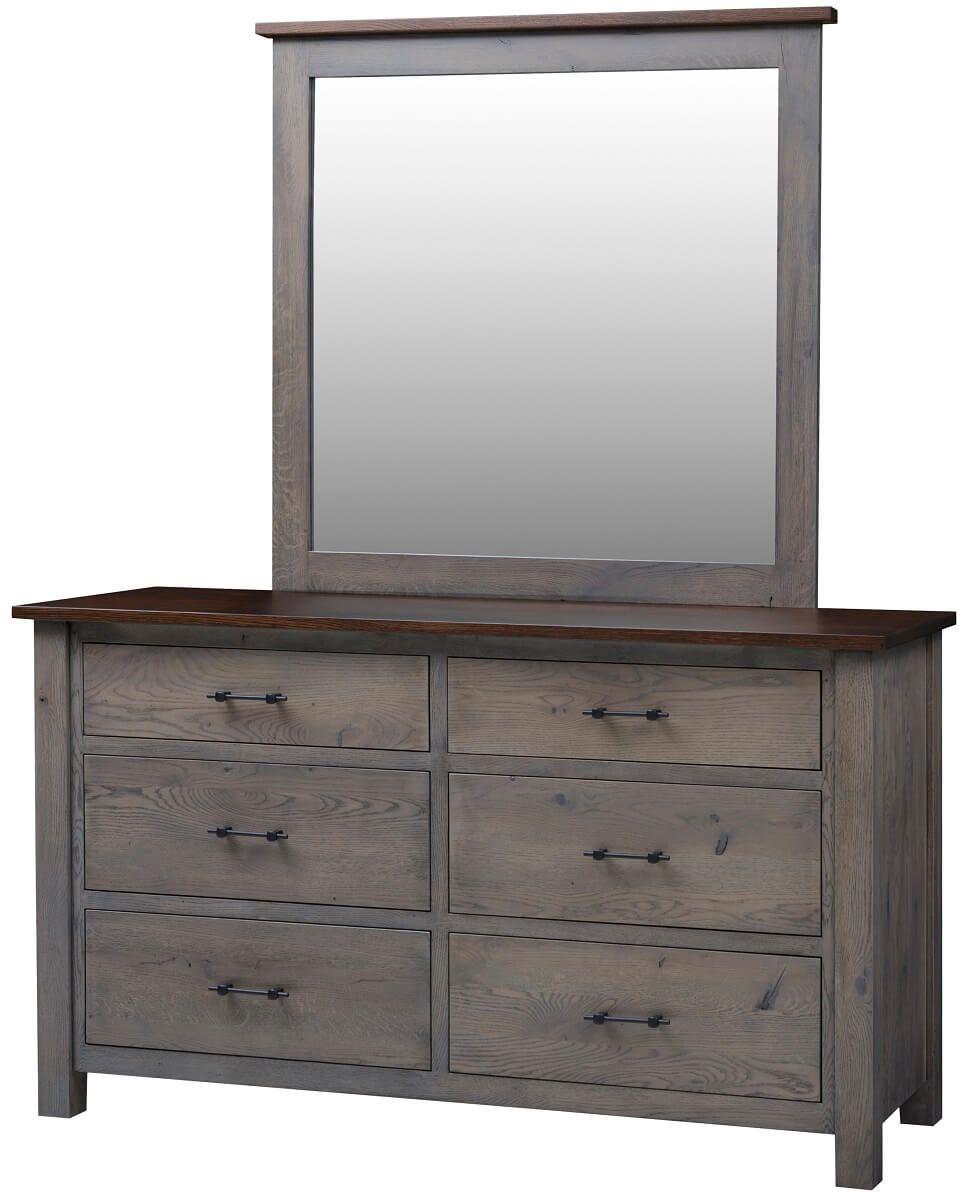 Bald Knob 6-Drawer Dresser