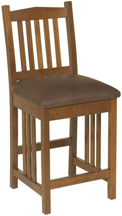 Carbondale Mission Counter Chair