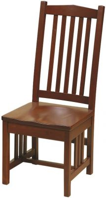 Cherry Mission Side Chair