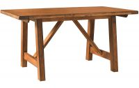 El Paso Trestle Bar Table