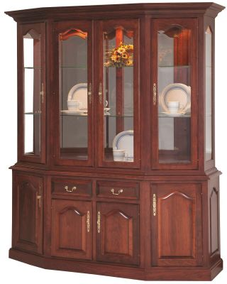 Canted Front Hutch