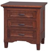 Kearny 3-Drawer Bedside Table