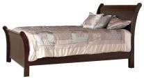Kuna Sleigh Bed with High Footboard