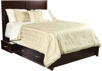 Kuna Storage Bed with Low Footboard