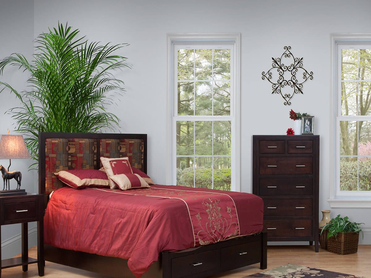 Kuna Upholstered Bedroom Set